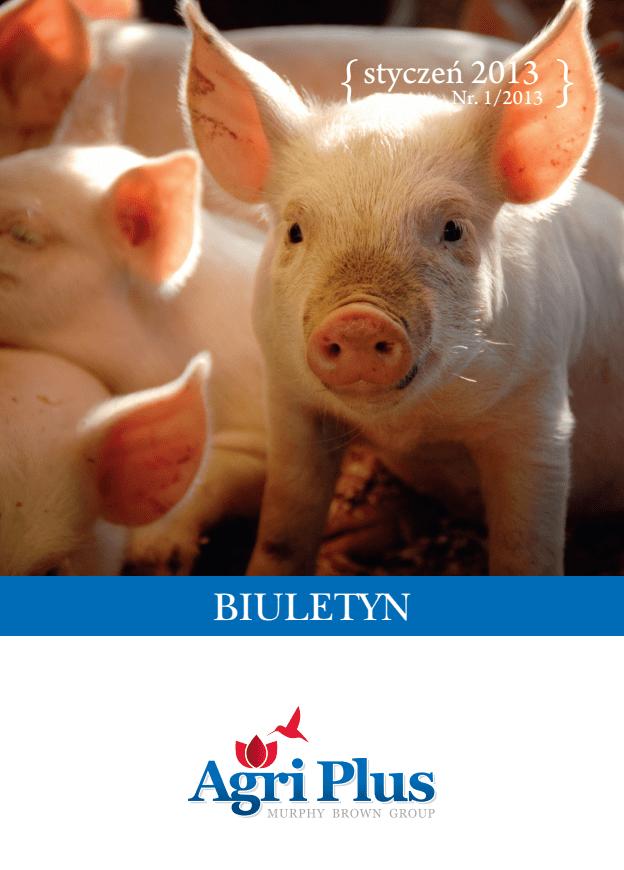 Biuletyn Agri Plus I/2013