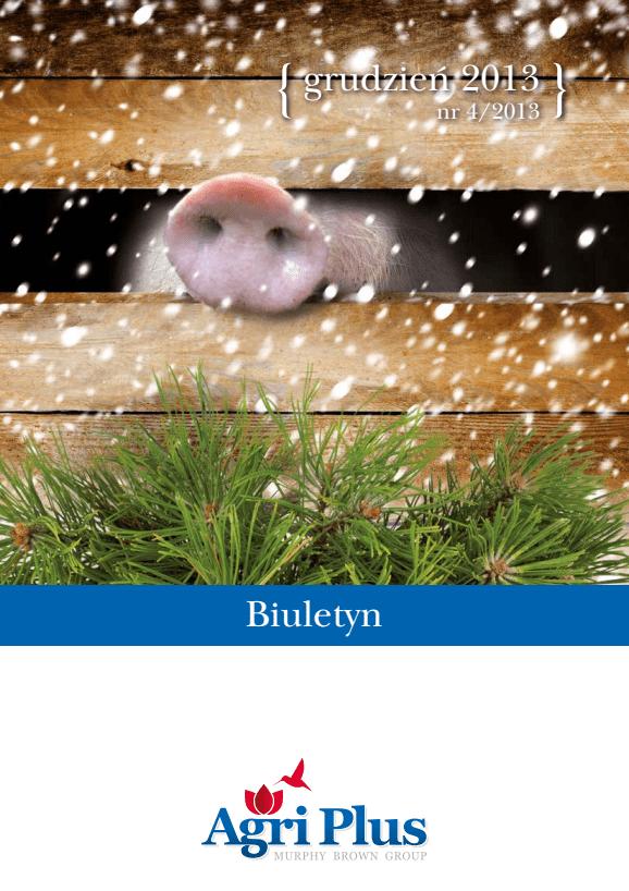 Biuletyn Agri Plus IV/2013