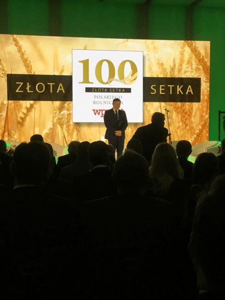 Złota 100 Polskiego Rolnictwa 2019